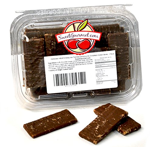 Heath English Toffee Bars, 1.5 pounds -