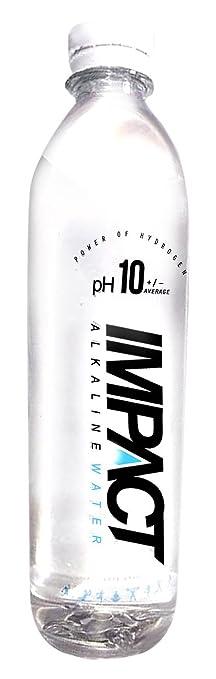 Amazon.com : Impact pH10 Alkaline Water Zero Electrolyte Water ...