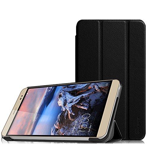 Fintie Huawei MediaPad X2 7.0 Hülle -Ultra Schlank Superleicht Ständer (SlimShell) Case Cover Schutzhülle Etui Tasche für Huawei MediaPad X2 7 Zoll LTE / WiFi Tablet-PC, Schwarz