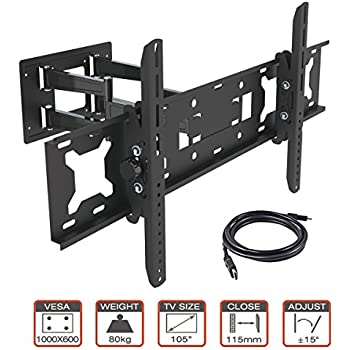 Amazon Com Videosecu Tilting Flat Panel Tv Wall Mount