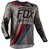 2018 Fox Racing 360 Draftr Jersey-Charcoal-XL