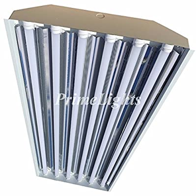 6 Bulb / Lamp T8 LED High Bay Warehouse, Shop, Commercial Light Fixture