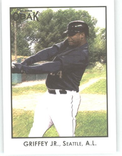- 2011 TriStar Obak HISTORY'S GREASTEST PLAYERS Baseball Card #1 Ken Griffey Jr. - Sports Trading Cards