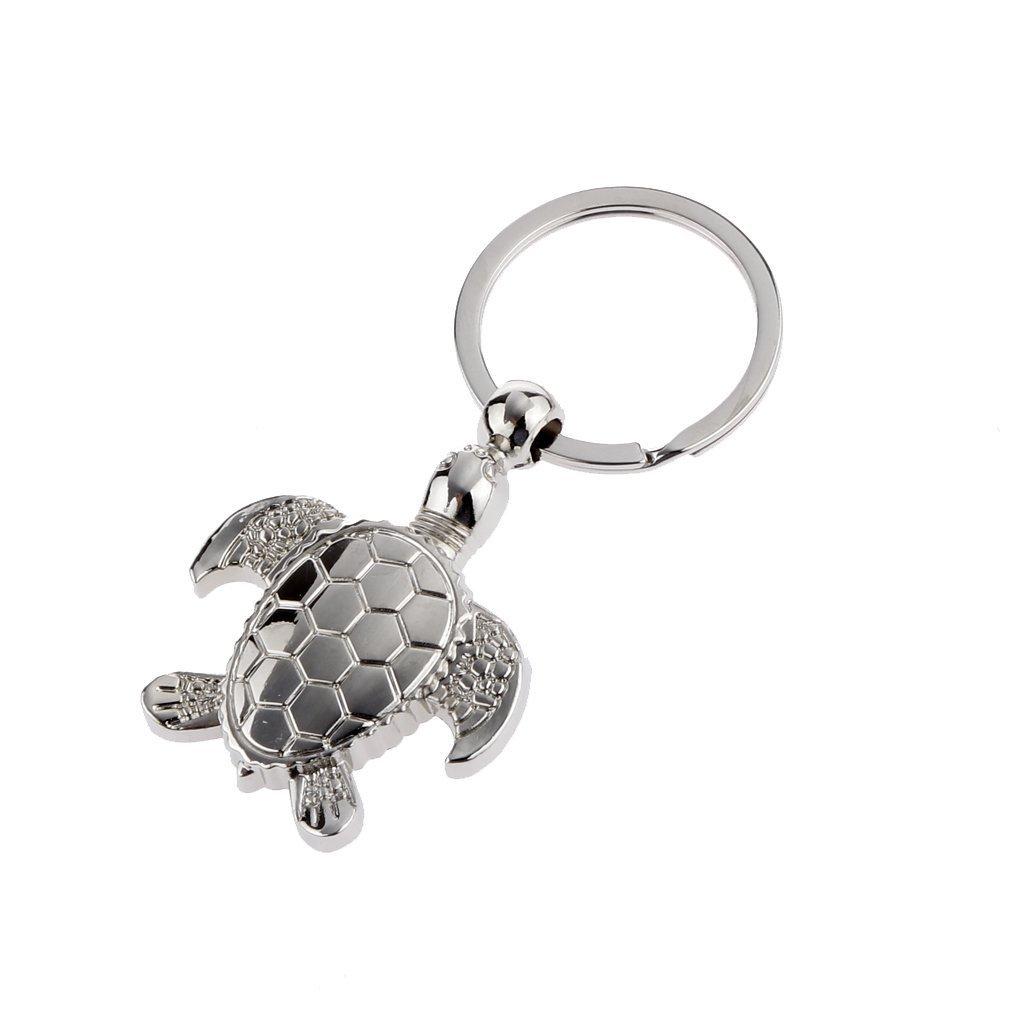 CS Royarebar Fashion Creative Turtle Shape Charm Car Pendant Keychain Keyring
