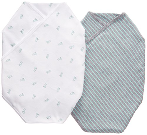 Carters Stripe 2 Pack Swaddle Blankets product image