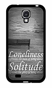 Loneliness and Solitude has TPU RUBBER SILICONE programs Phone Case Back Cover Samsung student Galaxy S4 I9500 This