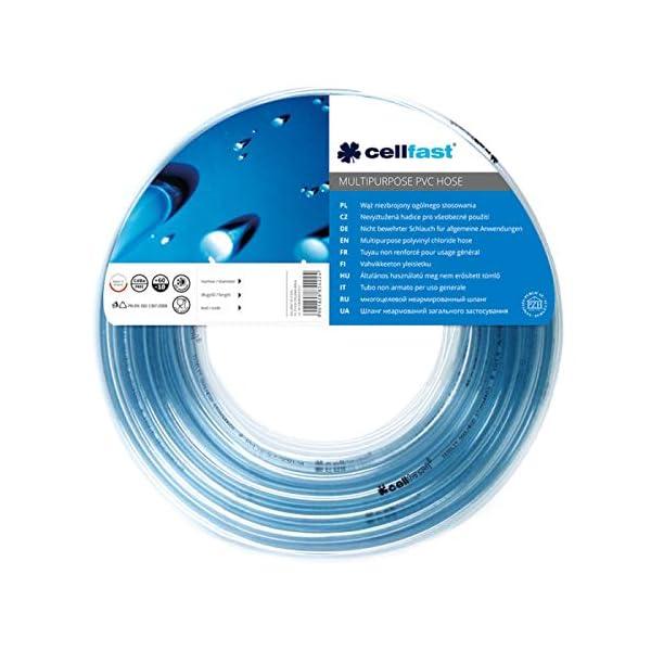 51SH SSq2RL Cellfast 20-484 UNIVERSAL universalschlauch, Blau, 10 mm x2mm,5m