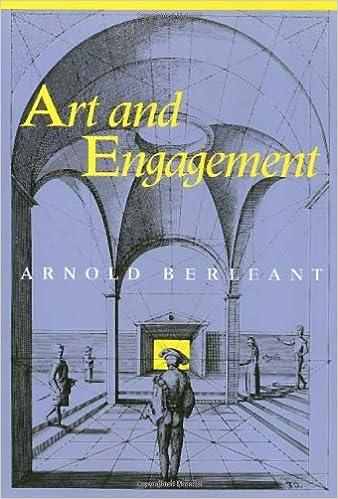 Livres google download Art And Engagement by Arnold Berleant RTF B00775YRRI
