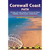 Cornwall Coast Path, 4th: (SW Coast Path Part 2) British Walking Guide with 130 large-scale walking maps, places to stay, places to eat