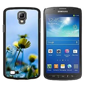 Stuss Case / Funda Carcasa protectora - Azul Amarillo Sol Campo de Verano - Samsung Galaxy S4 Active i9295