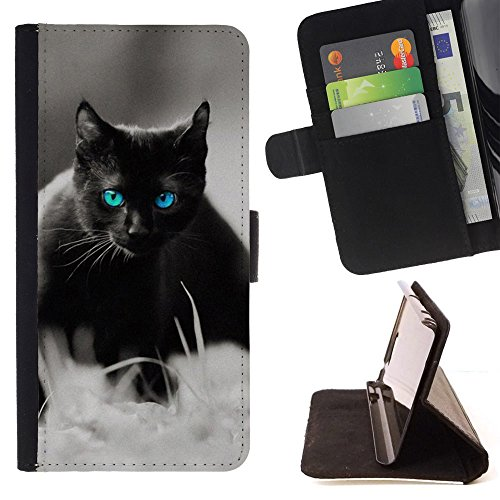 STPlus Gato en una caja Animal Monedero Carcasa Funda para HTC One M9+ (M9 Plus) #13
