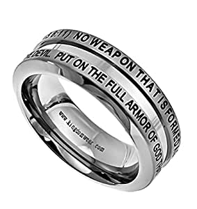 isaiah 54 17 ring for christian bible verse promise