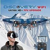 UDI U818A Drone with Camera Live Video WiFi FPV and