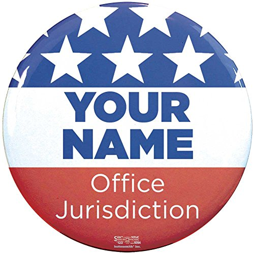 (Buttonsmith Custom Personalized Political Campaign 2.25