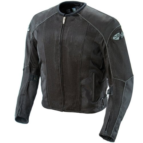 - Joe Rocket Phoenix 5.0 Men's Mesh Motorcycle Riding Jacket (Black/Black, Large)