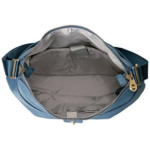 Hardware Bag Baggalini Slate with Gold Helsinki Blue 7B7Iwp