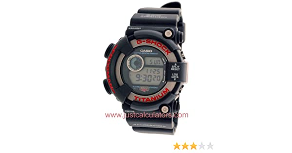 Amazon.com: Casio Mens Classic Original 2nd Generation Frogman G-Shock Watch Model DW-8200-1B: Watches