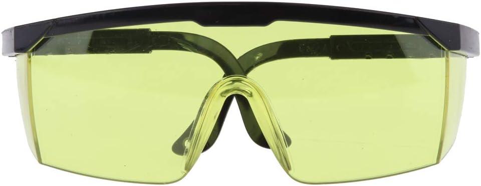 Soldadura Corte Soldador Soldador Gafas Gafas De Protección Ocular De Marco Grande - Amarillo, 15X5X4CM