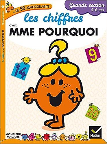En ligne téléchargement gratuit Madame Pourquoi - GS - Les chiffres pdf