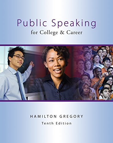 Download Public Speaking for College & Career by Hamilton Gregory.pdf