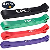 GINEE Pull Up Assist Bands,Stretching Bands GYM Lifting Assistance,Elastic Band Set Yoga exercise,Workout Bands Resistance Power