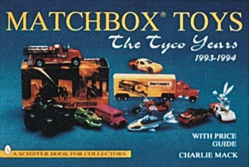 matchbox-toys-the-tyco-years-1993-1994-a-schiffer-book-for-collectors