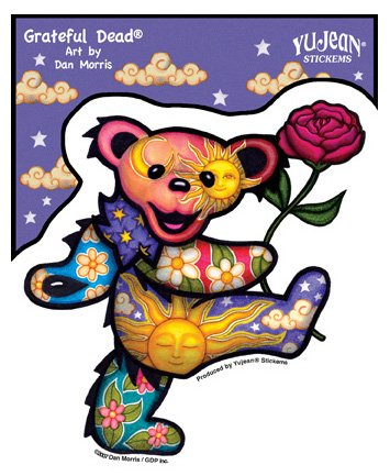 Dancing Bear with Rose