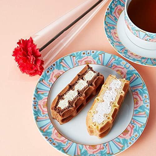エール・エル 母の日フラワー付き ワッフルケーキ 冷凍タイプ 10個入り 詰め合わせ