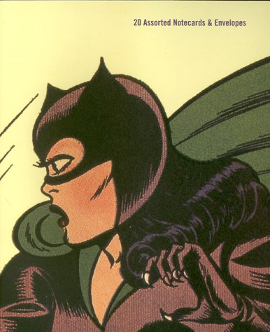 Catwoman -Deluxe Notecards