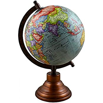 Amazon good friday deals desktop political globe world map desktop political globe world map with stand 105 inches gumiabroncs Images