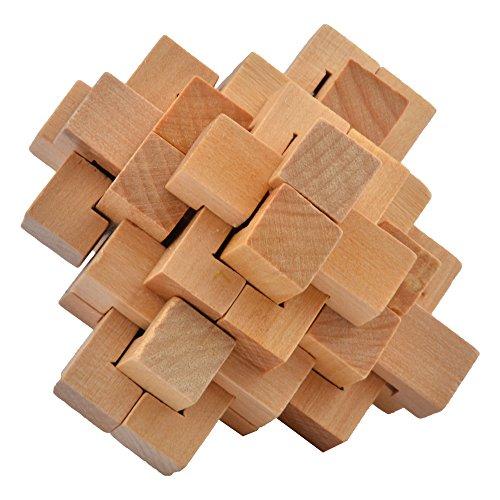 al Wooden Cube Educational Toy Set (Megamix Set)