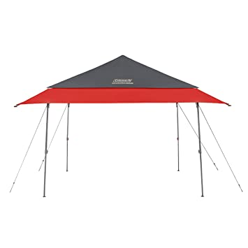 Coleman Expandable Shade Shelter | Adjustable Canopy Tent | UPF 50+ Sun  Protection | 10 x 10 Feet