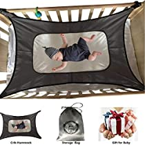 Baby Hammock for Crib,Mimics Womb,Newborn Bassinet,Strong Material,Upgraded Safety Measures,Infant Nursery Travel Bed, Reduce Environmental Risks Associated with Early Infancy Baby Shower Gift …