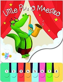 Amazon in: Buy Little Piano Maestro Crocodile Book Online at