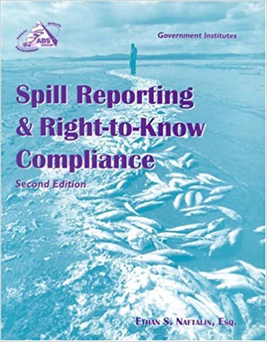 Spill Reporting and Right-to-Know Compliance