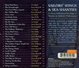 Sailor's Songs & Sea Shanties