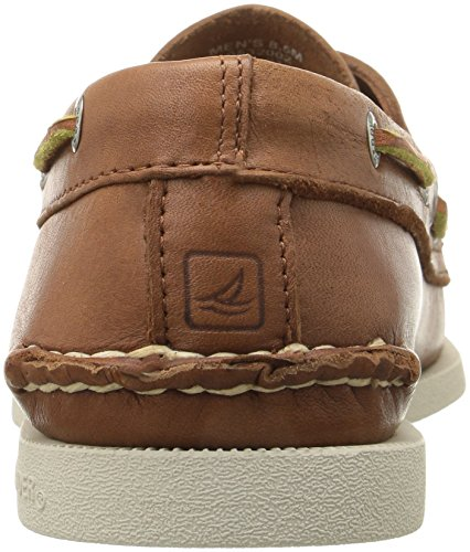 Sperry Top-Sider Herren A/O 2-Eye Leder Bootsschuh, Braun (TAN), 47 EU