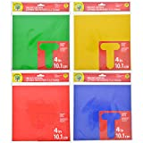 #4: Die-Cut Letters Uppercase Numbers Punctuation 69 Pack 4in 10.1cm (Red)