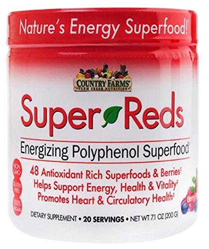 Country Farms Super Reds, 20 Servings, 7.1 oz Each (Pack of 7) by Country Farms