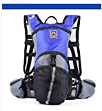 Techcell Hydration Backpack Rucksack Water Pack Bag for Outdoor Cycling Bicycle Bike Sport Running Hiking Climbing - Blue