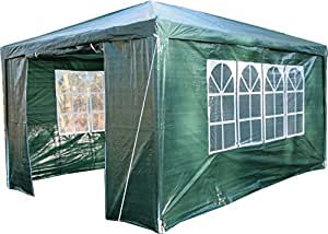 Airwave gazebo color verde jard n for Sombrillas jardin amazon