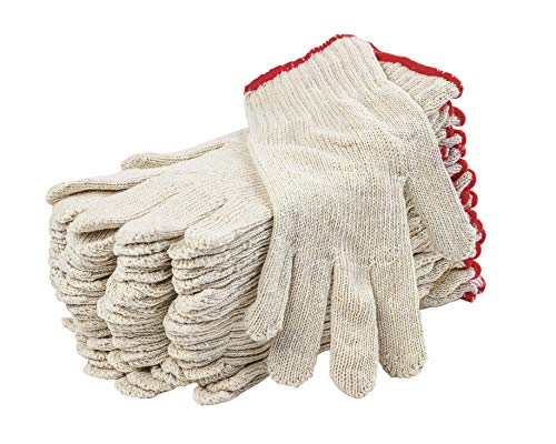 12 Pack String Knit Gloves 9
