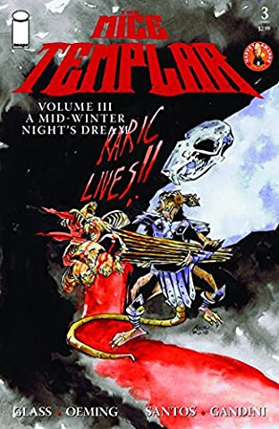 Mice Templar VOL 3 #3 Michael Avon Oeming Cvr (Mice Templar Vol 3)