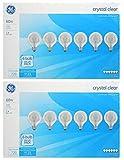 GE 64509 60 Watt, G25 Decorative Globe Light