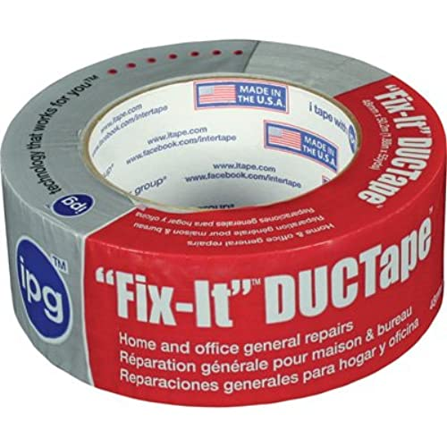 Hot Gray (Duct) Tape - 2in. x 55 Yard Length(Made in U.S.A) free shipping