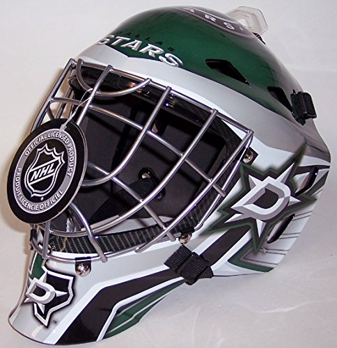 (Dallas Stars NHL Full Size Youth Goalie Hockey Mask - New with Tags - Not for Competitive Play)