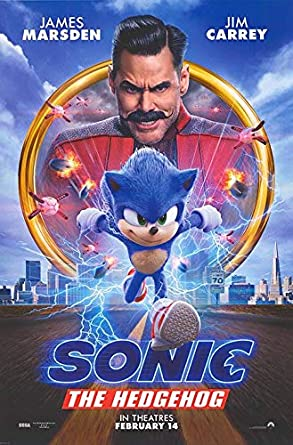 Sonic The Hedgehog Authentic Original 27x40 Rolled Movie Poster At Amazon S Entertainment Collectibles Store