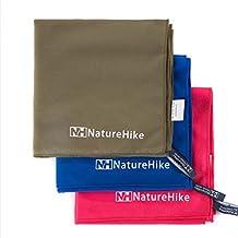 Wanna Naturehike Microfiber Antibacterial Ultralight Compact Quick Drying Towel Camping hiking Hand Face Towel Outdoor travel kits
