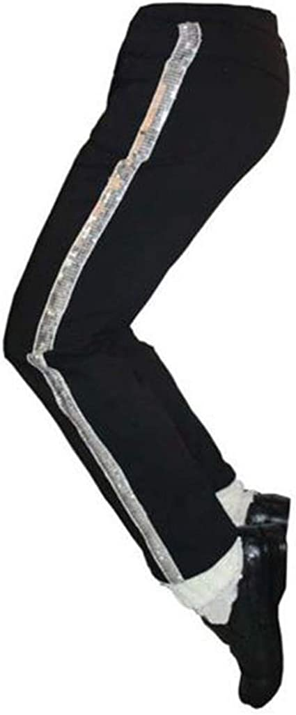 guangmu Disfraz para Baile de Michael Jackson Trousers para Baile ...