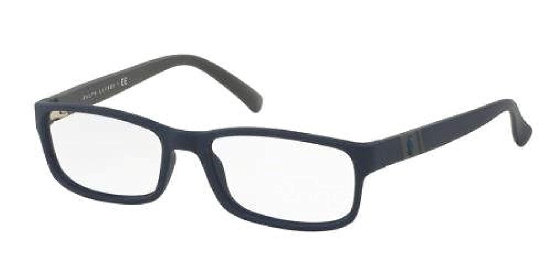 Polo Mens PH2154 Eyeglasses Matte Navy Blue 54mm
